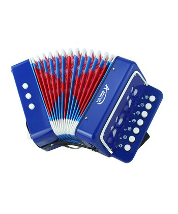 Blue Toy Button Accordion