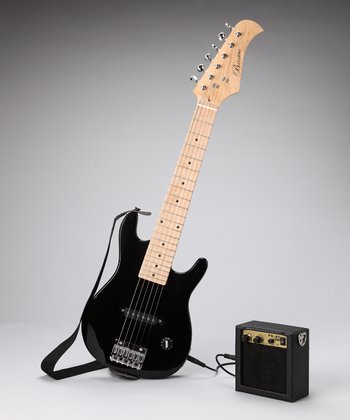 Black 30'' Electric Guitar Set