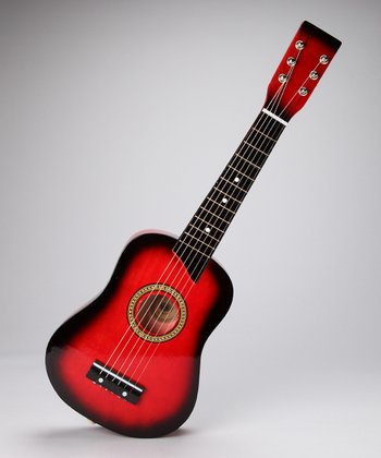 Red 23'' Toy Acoustic Guitar