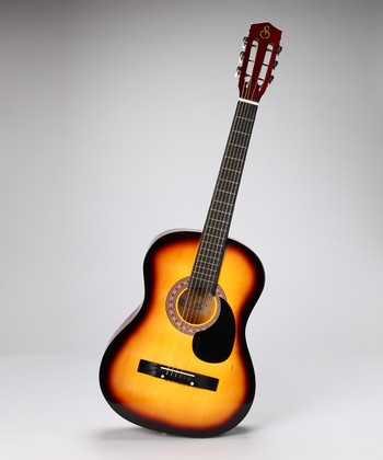 Sunburst 38'' Acoustic Guitar Set