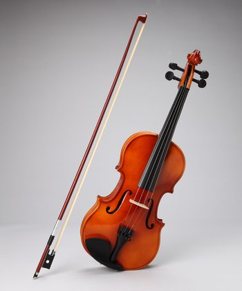Natural 3/4 Size Violin Set