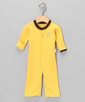 Banana Yellow Playsuit - Infant