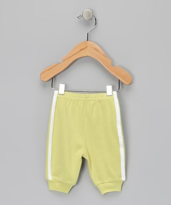 Lime Green Organic Pajama Pants - Infant