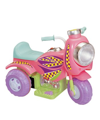 Pink Sit 'N' Ride Electric Cruiser Ride-On