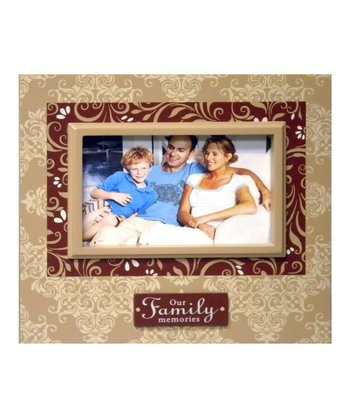 Brown & Red 'Family' Frame