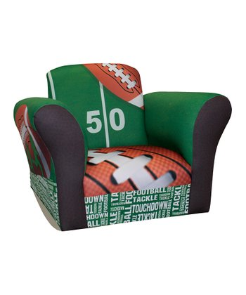 Football 50 Yard Line Standard Rocker