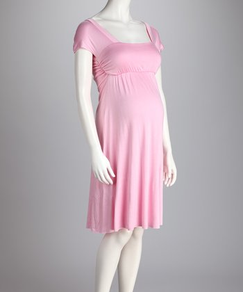 Pink Jenny Maternity Dress - Women