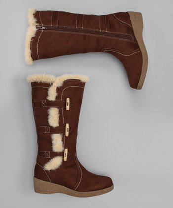 Brown Diva Girl Boot