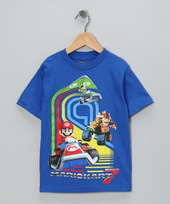 Royal 'Mario Kart 7' Tee - Kids