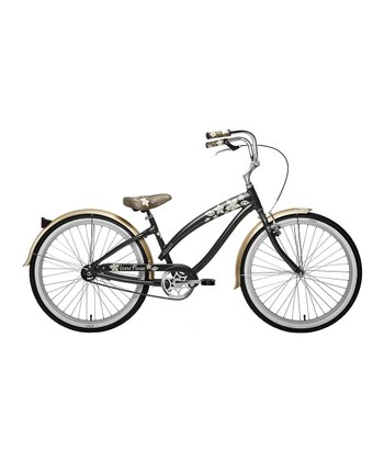 Metallic Charcoal Island Flower Women's Cruiser Bicycle