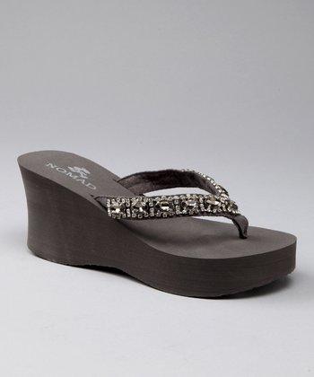 Gray Gem Sandal
