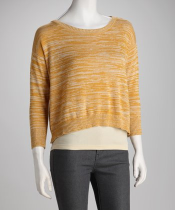 Dandelion Crop Sweater