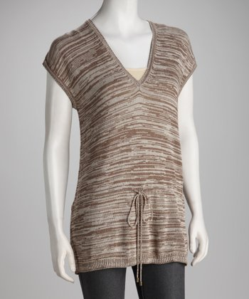 Putty V-Neck Tunic