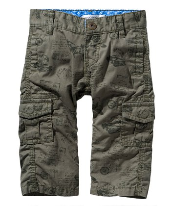 Olive Dario Cargo Pants - Infant & Toddler