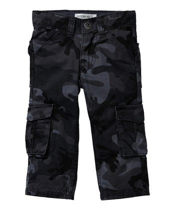 Gray Camo Pocket Pants - Infant & Toddler