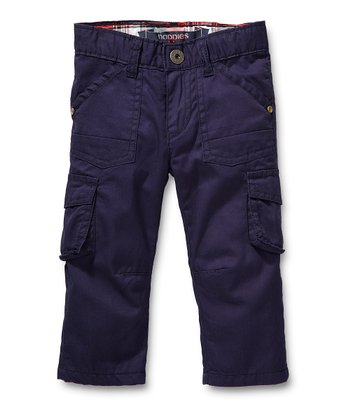 Navy Pocket Pants - Infant, Toddler & Boys