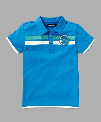 Blue Luis Polo - Toddler & Boys