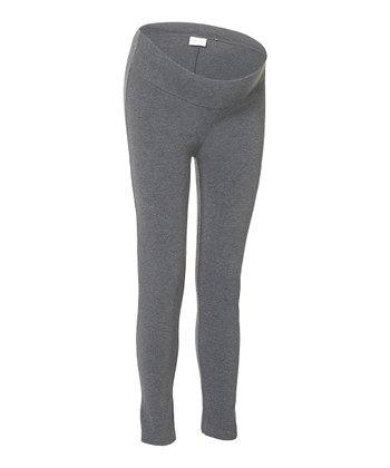 Anthracite Under-Belly Amsterdam Maternity Leggings