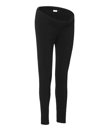 Black Under-Belly Amsterdam Maternity Leggings