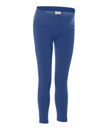 Navy Under-Belly Amsterdam Maternity Leggings