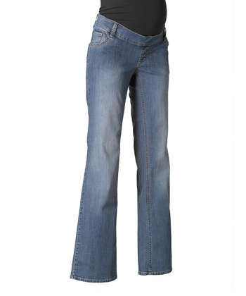 Blue Bangkok Under-Belly Maternity Jeans