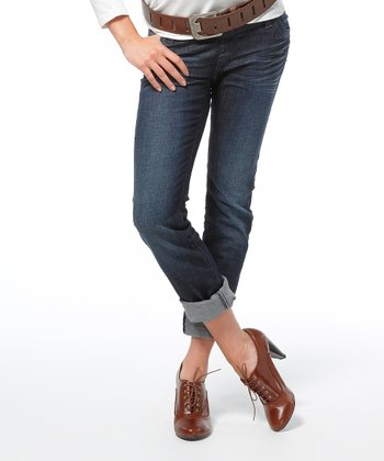 Stone Wash Washington Slim-Fit Maternity Jeans