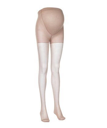 Nude 15-Denier Maternity Tights