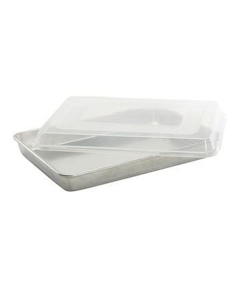 Natural Aluminum Covered Baking Pan