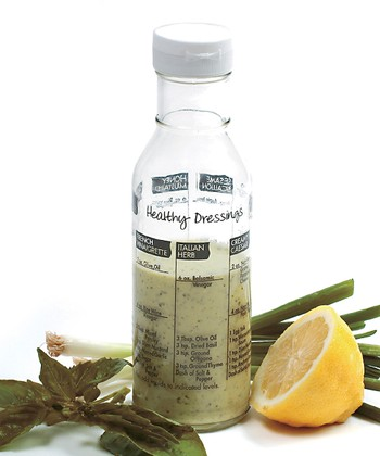 Glass Salad Dressing Shaker