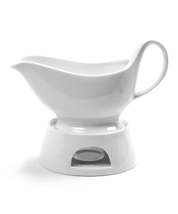 Sauce Boat & Warming Stand