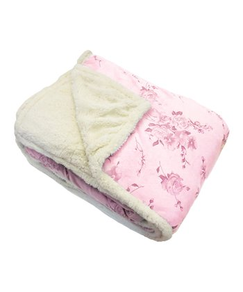 Fuchsia Therma Plush Blanket