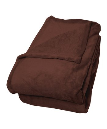 Chocolate Therma Plush Blanket