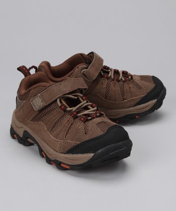 Tan & Rust Rainier All-Terrain Shoe - Kids