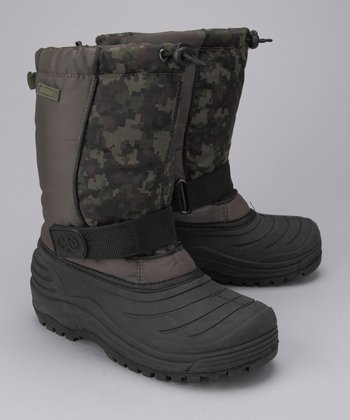 Digital Camo Storm Boot - Kids
