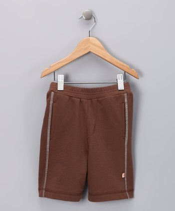 Chocolate Organic Shorts - Infant & Toddler