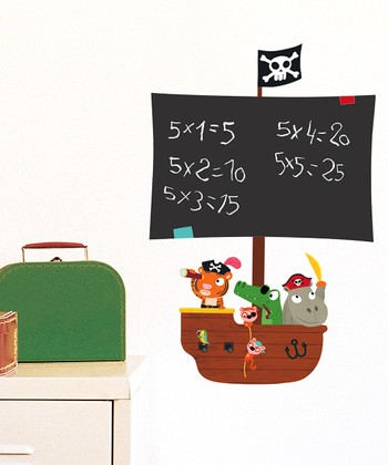 Pirates Chalkboard Decal Set