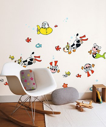 Underwater Wall Decal Set
