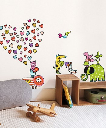 Zoo Story Wall Decal Set