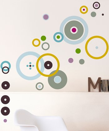 Bubble Wall Decal Set