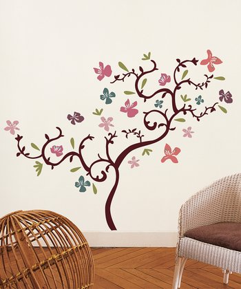 Hibiscus Wall Decal Set