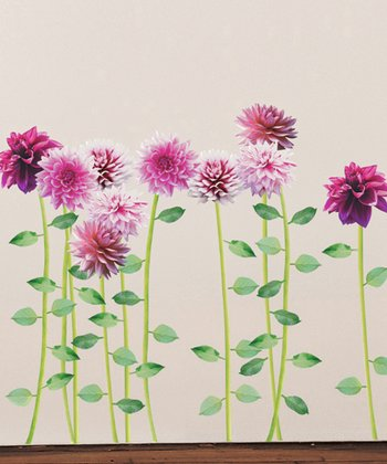 Dahlia Wall Decal Set