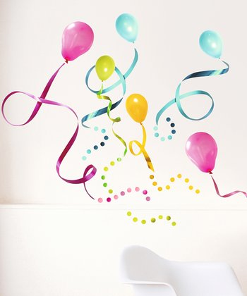 Balloon Wall Decal Set