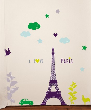 Paris Wall Decal Set
