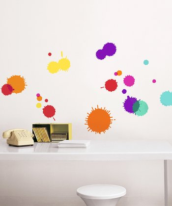 Ink Blot Wall Decal Set