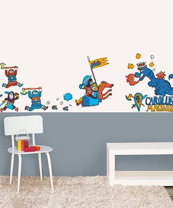 Knight Wall Decal Set