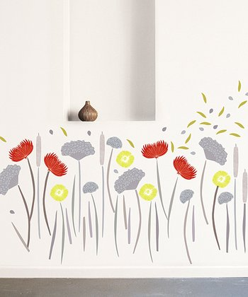 Wildflower Wall Decal Set
