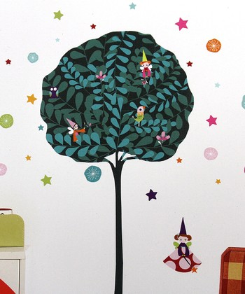 Fairy Tree Wall Decal Set