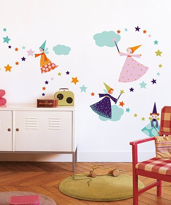 Fairy Wall Decal Set