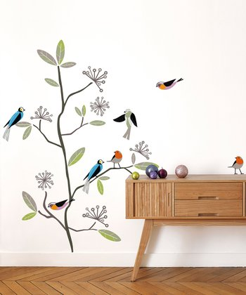 Bird Wall Decal Set