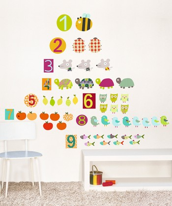 Figures Wall Decal Set